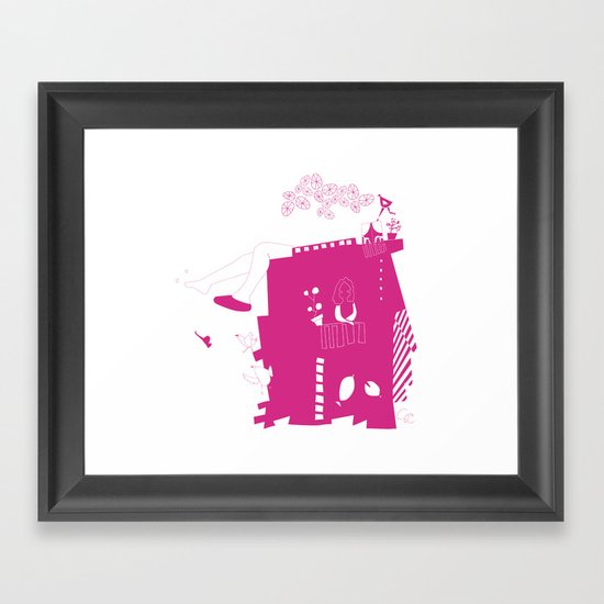 lo-cura Framed Art Print