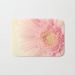 Pastel Pink Macro Bath Mat