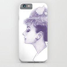 Audrey Hepburn in Purple  Slim Case iPhone 6s