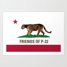 Friends of P-22 Art Print