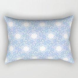 Frozen Thistle Spirals Rectangular Pillow