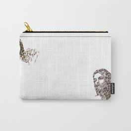 Leopard skin Carry-All Pouch