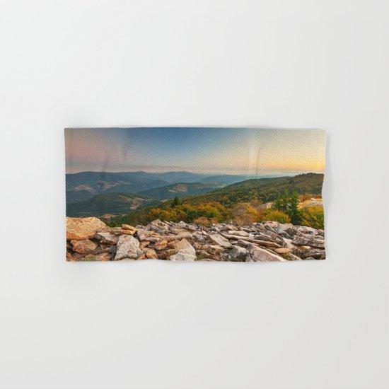 Spruce Knob Mountain Sunset Hand & Bath Towel