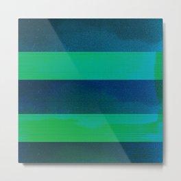 waves (02) Metal Print