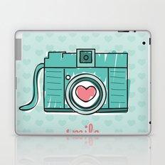 Green Smile Laptop & iPad Skin