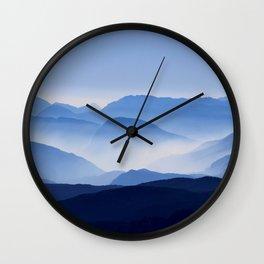 Mountain Shades Wall Clock