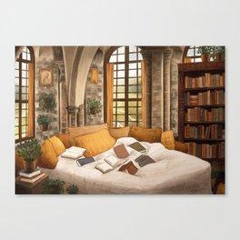 Hufflepuff home Canvas Print