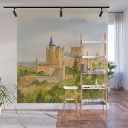 The Alcazar Segovia Spain Wall Mural