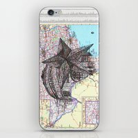 texas iPhone & iPod Skins featuring Texas by Ursula Rodgers