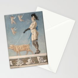 Pornocrates (1878) -Félicien Rops Stationery Cards