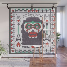 Heavy Metal Mexian Style Wall Mural