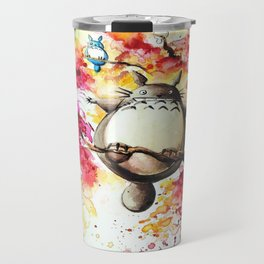 """""""In the red tree"""" Travel Mug"""