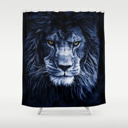 PANTHERA LEO Shower Curtain