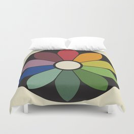 James Ward's Chromatic Circle Duvet Cover