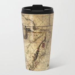 Antique Map Travel Mug