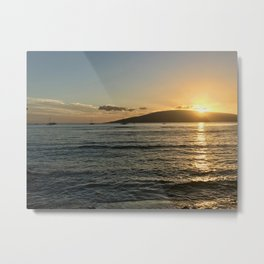 Lahina Sunset Metal Print