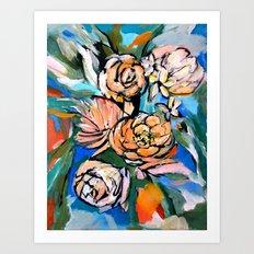 Vibrant Floral Art Print