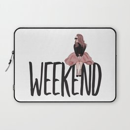 Waiting for weekend Laptop Sleeve