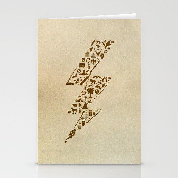 Lightning never strikes twice  Stationery Cards