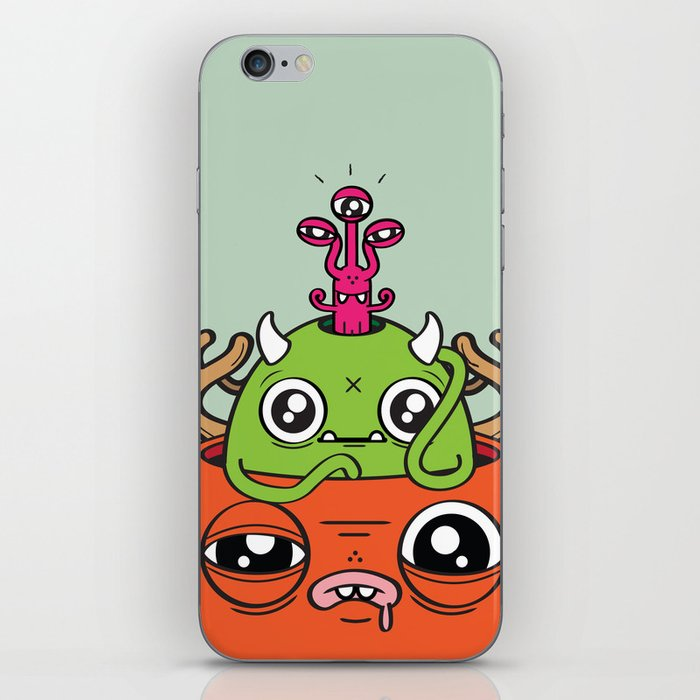 Monster Mind iPhone Skin