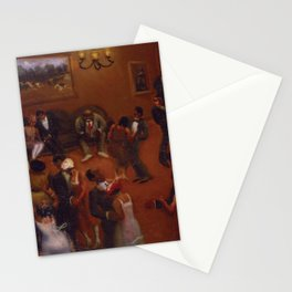 African-American Classical Masterpiece Harlem Dance Hall by Archibald Motley Stationery Cards