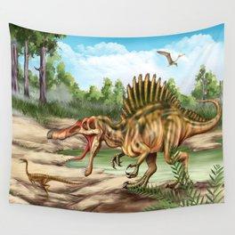 Dinosaur Species Wall Tapestry