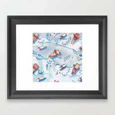 Shallow Water Framed Art Print