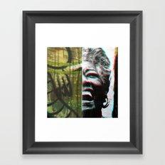 Soar, inspire; natural gestures ignite truth. Framed Art Print