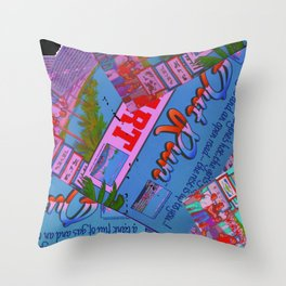 spam Throw Pillow