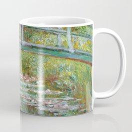 "Claude Monet ""Bridge over a Pond of Water Lilies"" Coffee Mug"