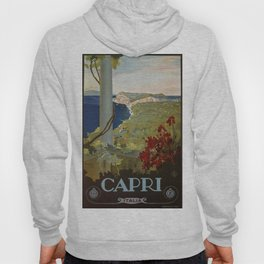 Isle of Capri Italian travel ad Hoody