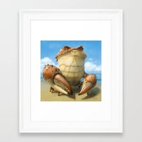 muscle Framed Art Prints featuring The Muscle by Andrew McIntosh