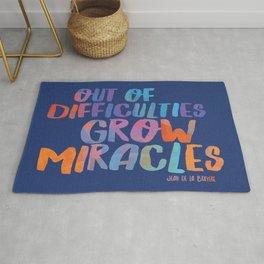 GROW MIRACLES Rug