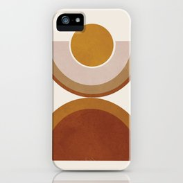 Modern Geometry iPhone Case