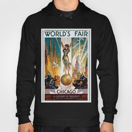 Vintage World's Fair Chicago IL 1933 Hoody