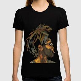 Stacked Locks #MixedMediaPainting T-shirt