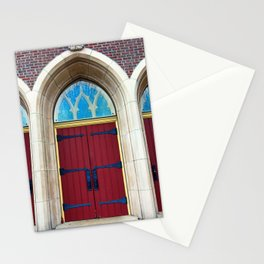 Red Doors Stationery Cards