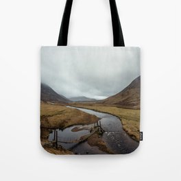 Broken Bridge Valley Mist Tote Bag