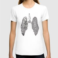 lungs T-shirts featuring Lungs by Alexander.Leake