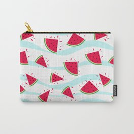 Watermelon pattern . Retro . Carry-All Pouch