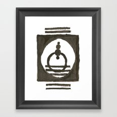 Parade of the planets Framed Art Print