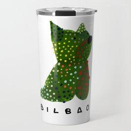Puppy Guggenheim Bilbao Travel Mug