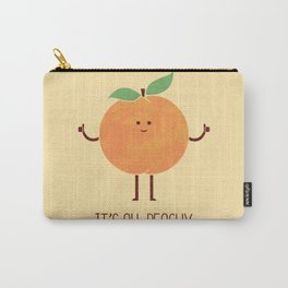All Peachy Carry-All Pouch