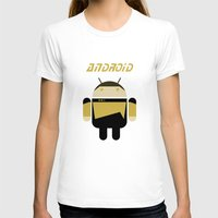 android T-shirts featuring Android by dextifire