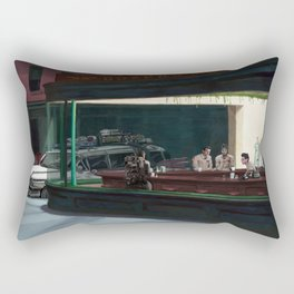 Night Busters Rectangular Pillow