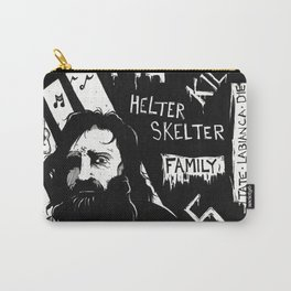 Serial Killer 3: Manson (b&w) Carry-All Pouch