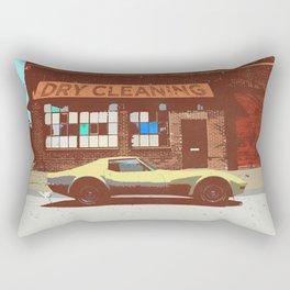 SUMMER CRUISER (WORK LIKE YOU DON'T NEED MONEY) Rectangular Pillow