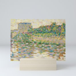 The Seine at Courbevoie, Georges Seurat Mini Art Print