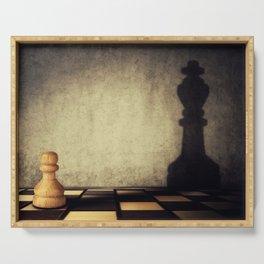 pawn aspiration Serving Tray