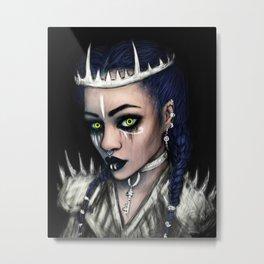 Vampire's Gaze Metal Print